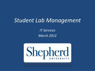 Student Lab Management