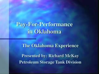 Pay-For-Performance in Oklahoma