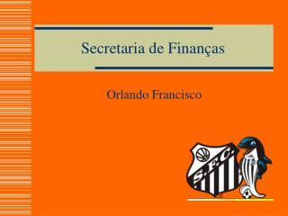 Secretaria de Finanças