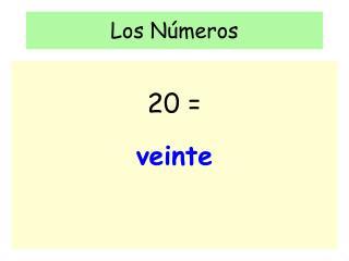 Los N�meros