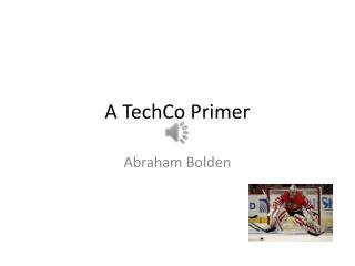 A TechCo Primer