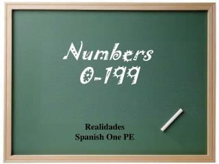 Numbers 0-199
