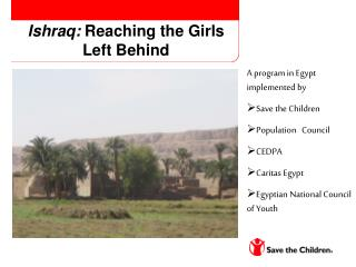 Ishraq:  Reaching the Girls Left Behind