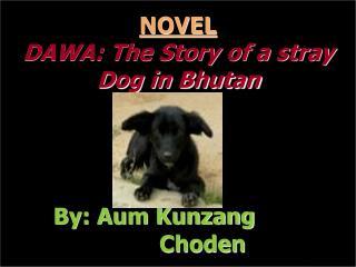 NOVEL DAWA: The Story of a stray Dog in Bhutan By: Aum Kunzang          Choden