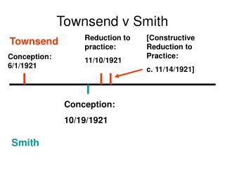 Townsend v Smith