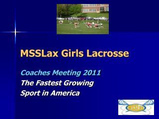 MSSLax Girls Lacrosse
