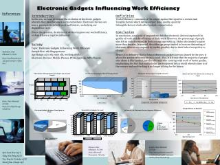 Electronic Gadgets Influencing Work Efficiency