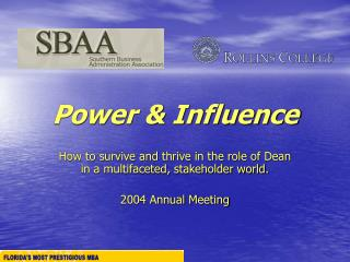 Power & Influence
