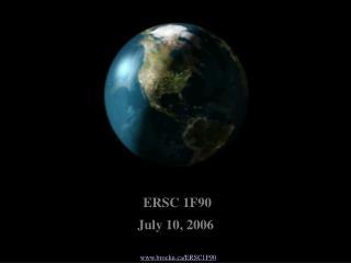 www.brocku.ca/ERSC1F90