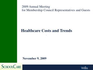 Healthcare Costs and Trends