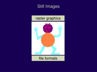 Still Images raster graphics file formats