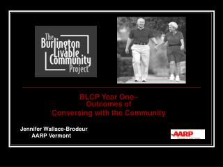 BLCP Year One–  Outcomes of  Conversing with the Community