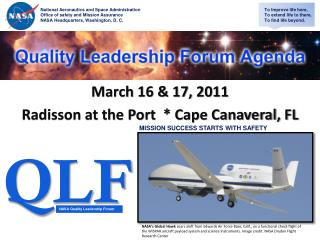 March 16  17, 2011 Radisson at the Port   Cape Canaveral, FL