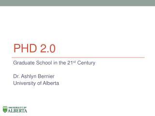 PhD 2.0