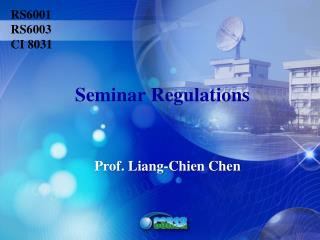 Prof. Liang- Chien  Chen