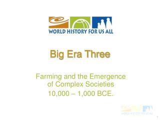 Big Era Three