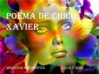 Poema de Chico Xavier