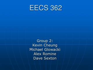 EECS 362