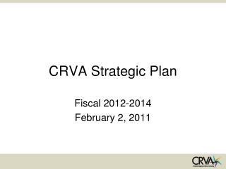 CRVA Strategic Plan