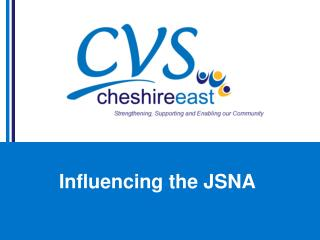 Influencing the JSNA