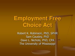 Employment Free Choice Act