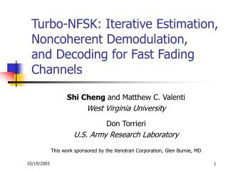 Turbo-NFSK: Iterative Estimation, Noncoherent Demodulation, and Decoding for Fast Fading Channels