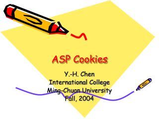 ASP Cookies