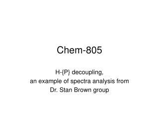 Chem-805