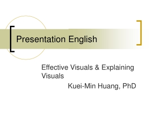 Watch Presentation