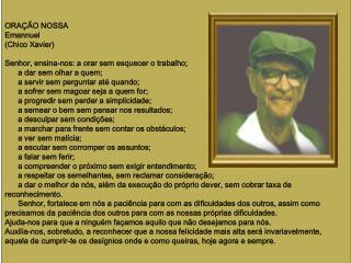 Prece na voz de Francisco Cândido Xavier