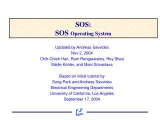 SOS: SOS  Operating System