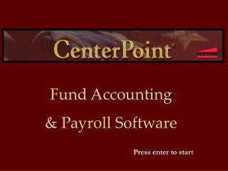 Fund Accounting  & Payroll Software