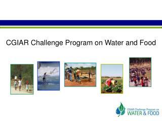 CGIAR Challenge Program on Water and Food