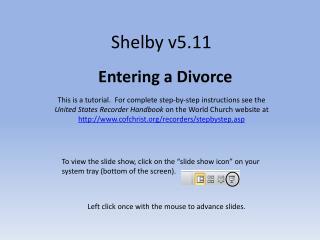Shelby v5.11