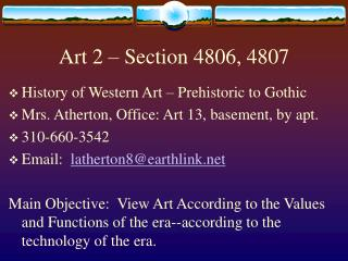 Art 2 – Section 4806, 4807
