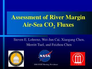 Assessment of River Margin Air-Sea CO 2  Fluxes