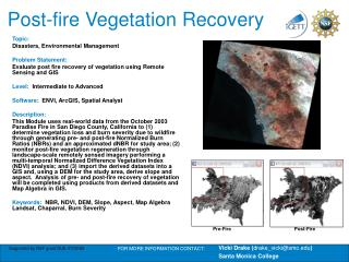 Post-fire Vegetation Recovery