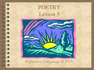 POETRY Lesson 5