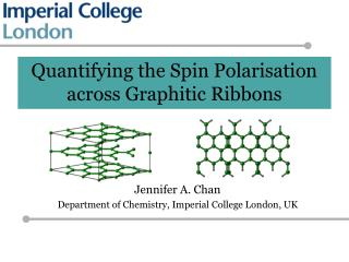 Quantifying the Spin Polarisation across Graphitic Ribbons