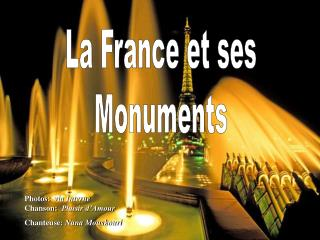La France et ses Monuments