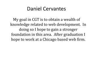 Daniel Cervantes