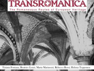 Tiziana Fontana, Beatrice  Lozzi , Marta  Marinozzi ,  R ebecca Rossi, Helena  Tepponen