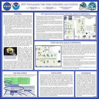 Richard E. Ullman NASA Goddard Space Flight Center Greenbelt, MD