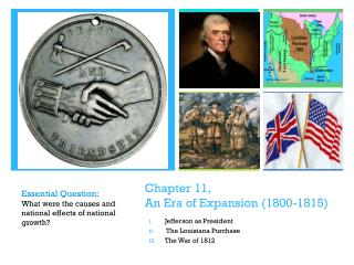 Chapter 11,  An Era of Expansion (1800-1815)