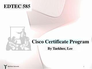 EDTEC 585