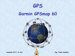 GPS  Garmin GPSmap 60