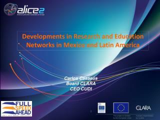 Carlos Casas�s Board CLARA CEO CUDI