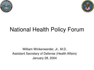 National Health Policy Forum