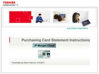 Purchasing Card Statement Instructions