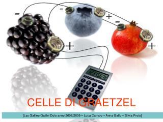 CELLE DI GRAETZEL